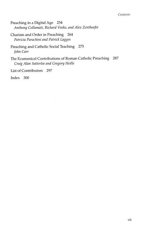 A Handbook for Catholic Preaching