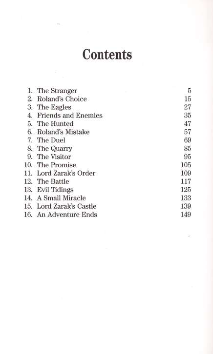 The Savage Games of Lord Zarak (Seven Sleepers: The Lost Chronicles)
