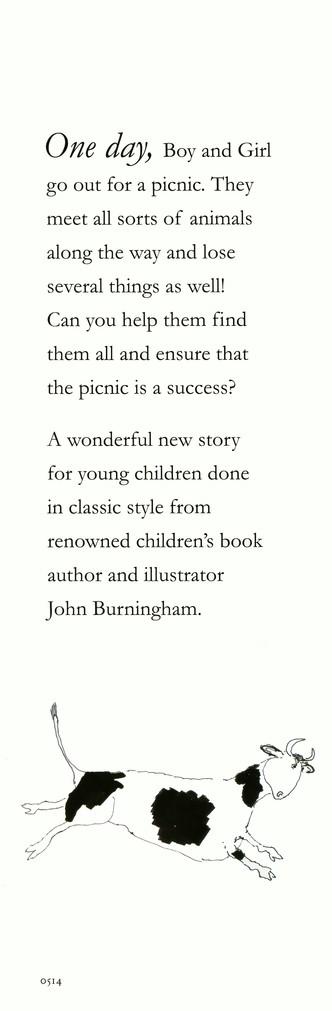 Picnic John Burningham Illustrated By 9780763669454