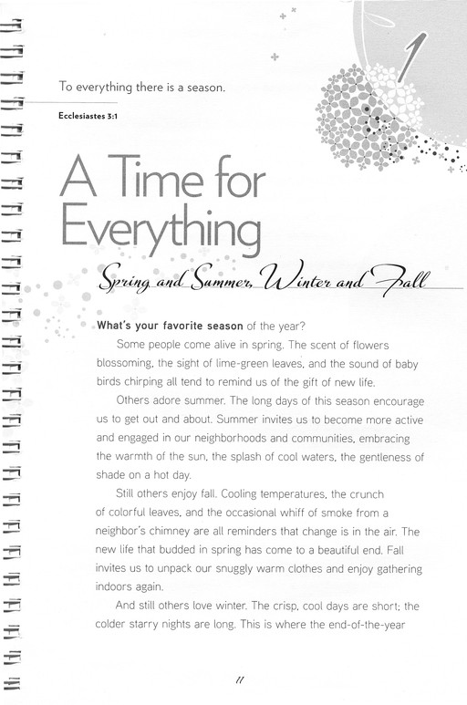 A Time For Everything: Discovering the Beautiful Rhythms of Life, Woman of Faith Study Guide Series