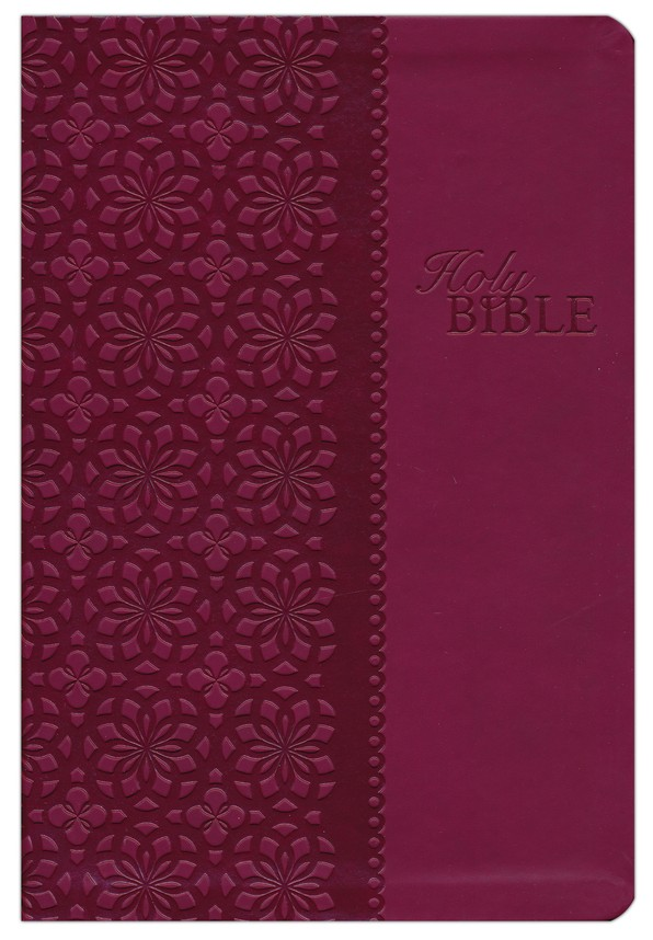 King James Study Bible, Second Edition, Leathersoft, Cranberry