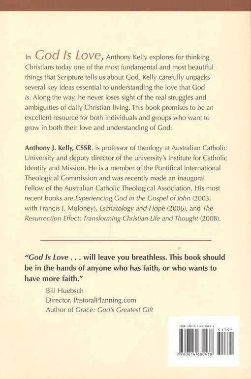 God is Love : The Heart of Christian Faith