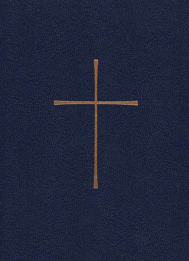 1979 Book of Common Prayer, Personal Edition  Imitation Leather, Blue