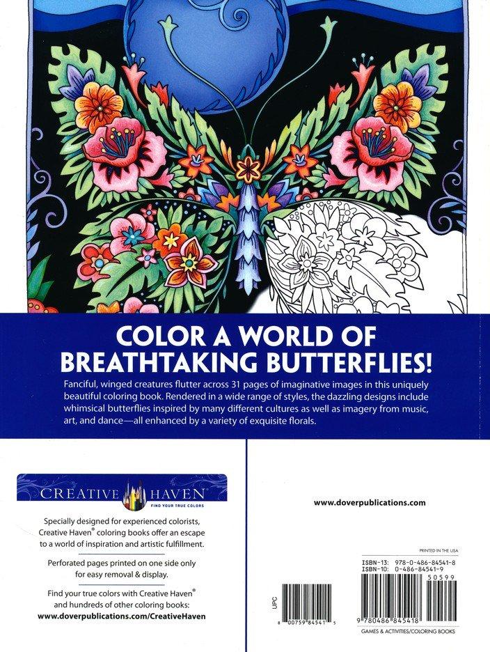 Butterflies Flights Of Fancy Coloring Book: Marjorie Sarnat: 9780486845418  - Christianbook.com