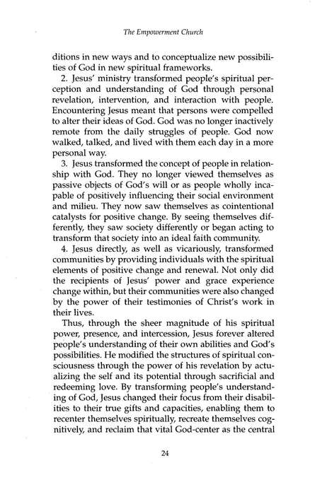 the empowerment church stewart carlyle