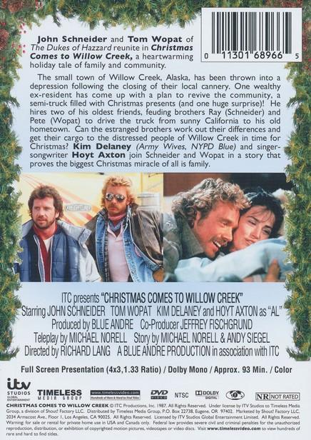 Christmas Comes To Willow Creek.Christmas Comes To Willow Creek Dvd