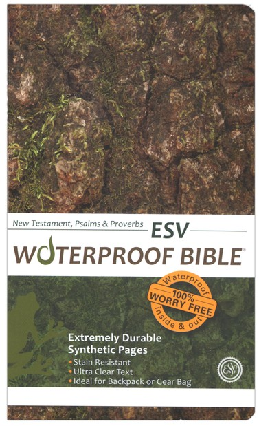 ESV Waterproof Bible New Testament with Psalms & Proverbs, Camouflage