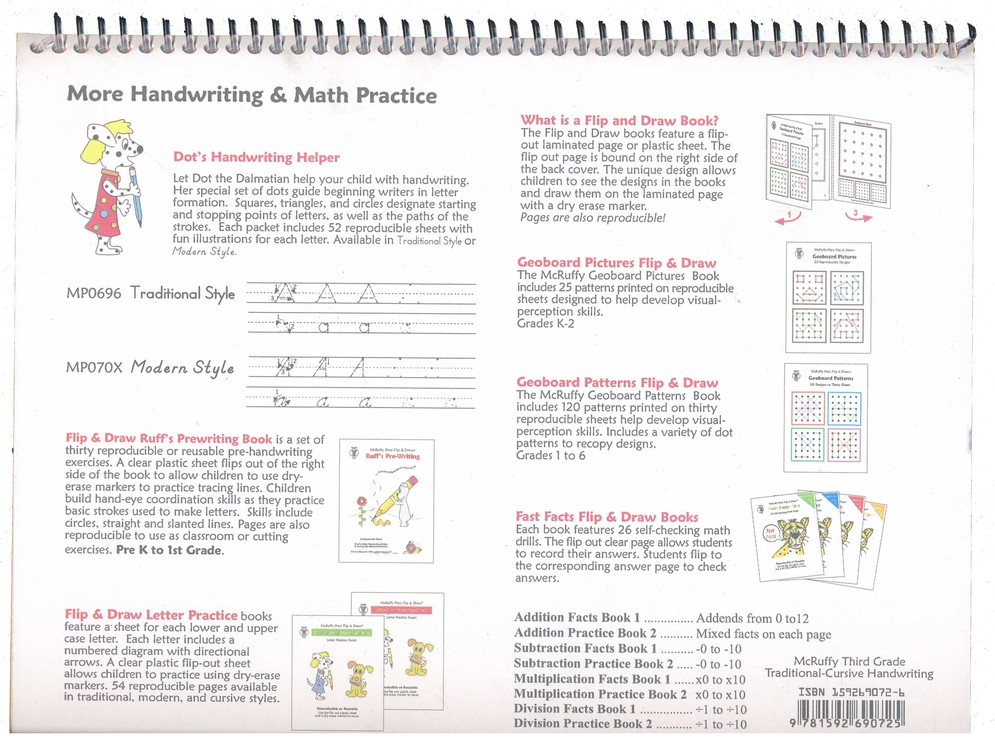 McRuffy Handwriting Series: Traditional & Cursive--Grade 3