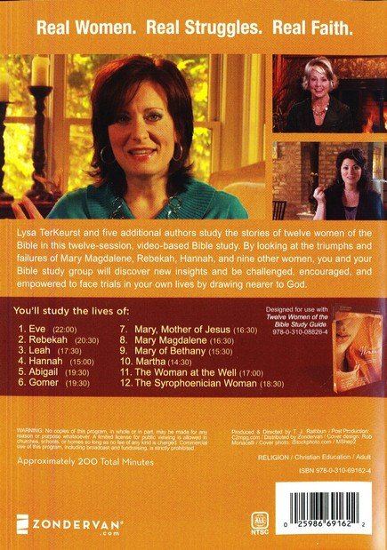Twelve Women Of The Bible A Dvd Study Life Changing Stories For