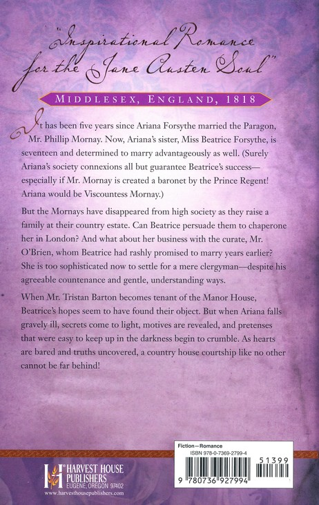 The Country House Courtship, London Regency Series #3