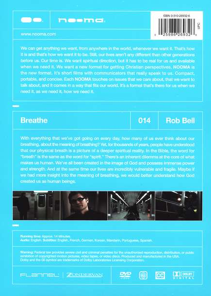 Nooma #14: Breathe, DVD