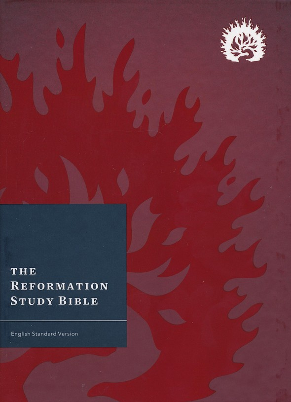 ESV Reformation Study Bible, 2015 Edition, Hardcover, Crimson