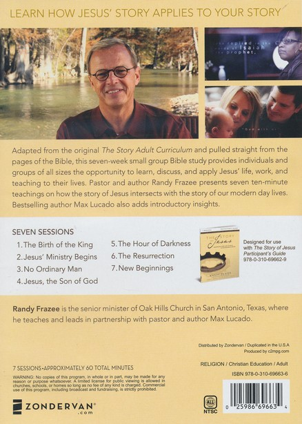 The Story of Jesus: A DVD Study: Experience the Life of Jesus as One Seamless Story