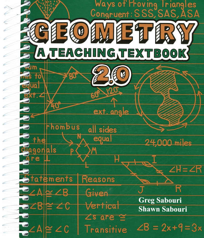 Teaching Textbooks Geometry Complete Kit, Version 2.0