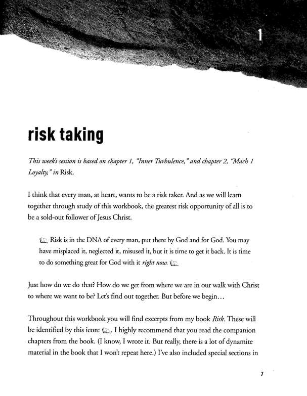 Risk: Are You Willing to Trust God with Everything? (Workbook) God's Man Series