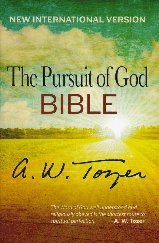 The Pursuit of God Bible, NIV