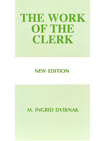 The Work of the Clerk