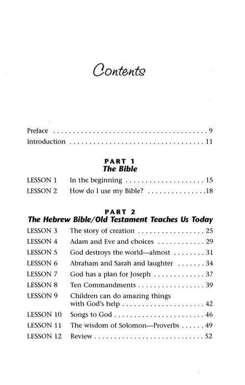 Teaching Children Bible Basics: 36 Lessons for Helping Children Learn to Use the Bible