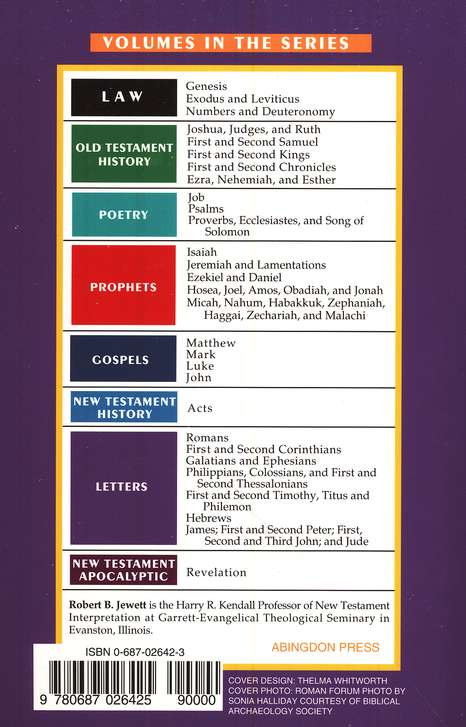 Romans: Basic Bible Commentary, Volume 22