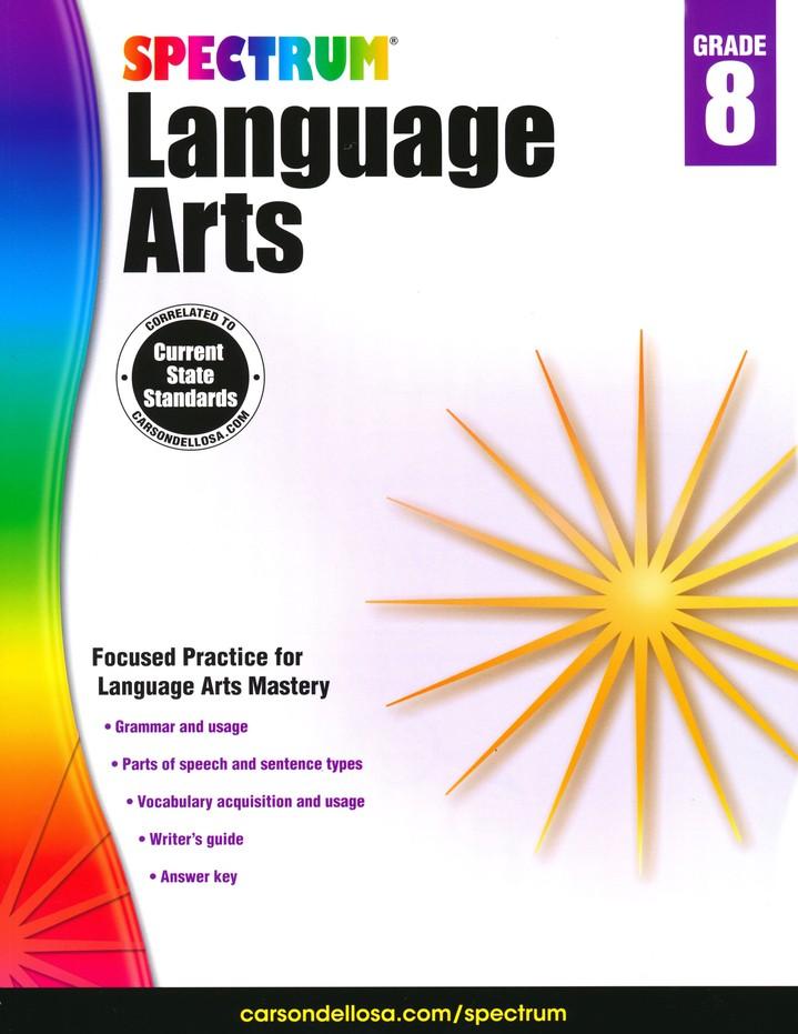 Spectrum Language Arts Grade 8 (2014 Update)