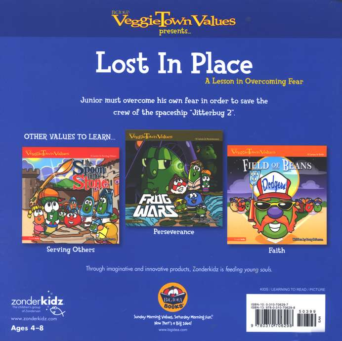 VeggieTown Values: Lost in Place, A Lesson in Overcoming Fear