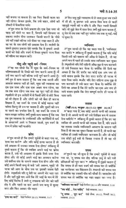 Hindi New Testament: Easy-to-Read Translation