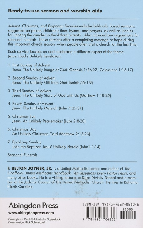 Advent, Christmas, and Epiphany Services