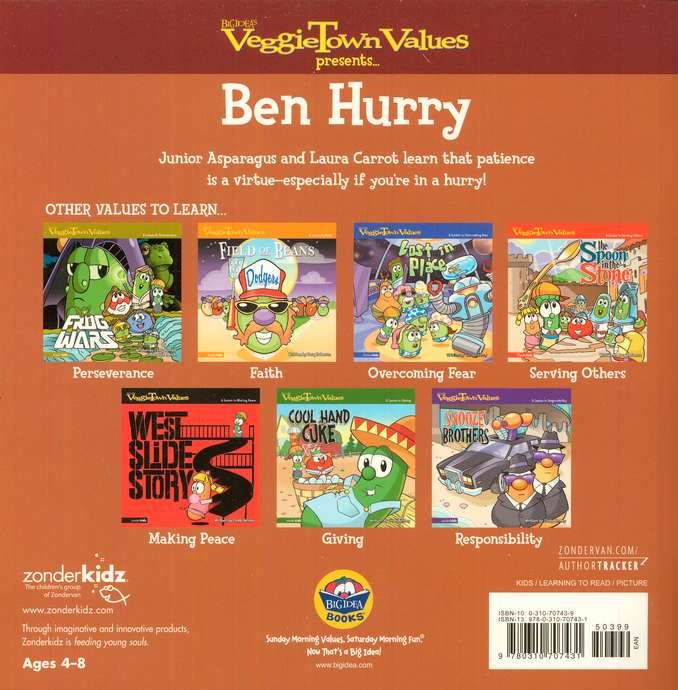 VeggieTown Values: Ben Hurry, A Lesson in Patience