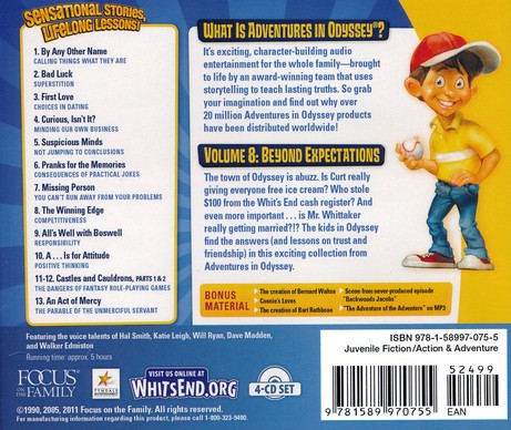 Adventures in Odyssey ® #8: Beyond Expectations