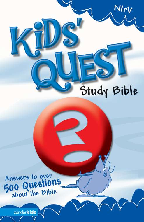 NIrV Kids' Quest Study Bible, Hardcover: Real Questions, Real Answers