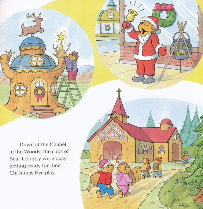 Living Lights: The Berenstain Bears and the Joy of Giving
