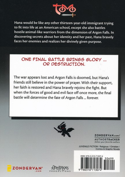 Battle for Argon Falls, Volume 8, Z Graphic Novels / Tomo