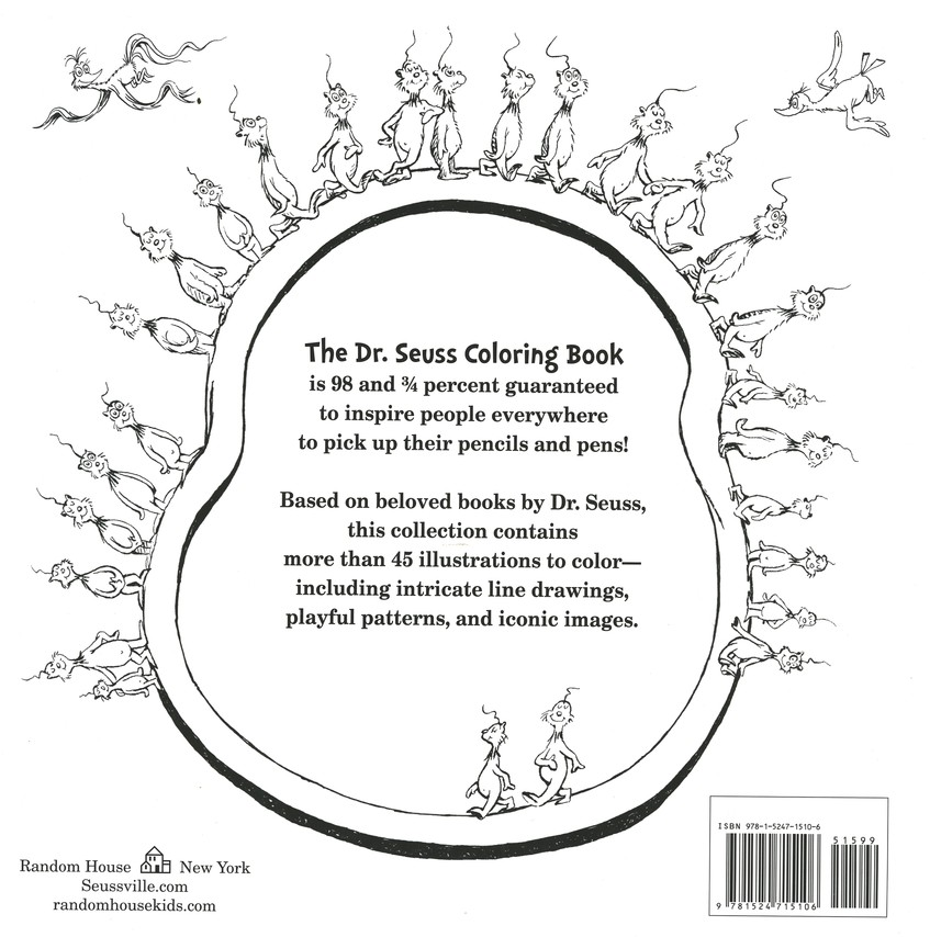 The Dr. Seuss Coloring Book: 9781524715106 - Christianbook.com