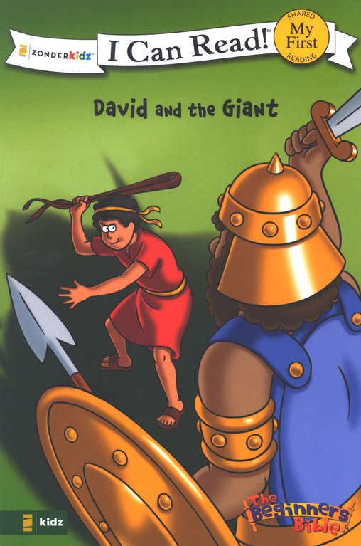 The Beginner's Bible: David and the Giant, My First I Can Read!  (Shared Reading)