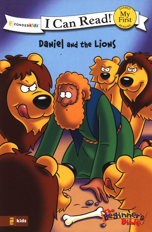 The Beginner's Bible: Daniel and the Lions, My First I Can Read!  (Shared Reading)