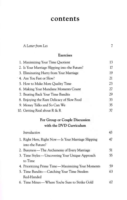 Your Time-Starved Marriage Workbook for Men: How to Stay Connected at the Speed of Life
