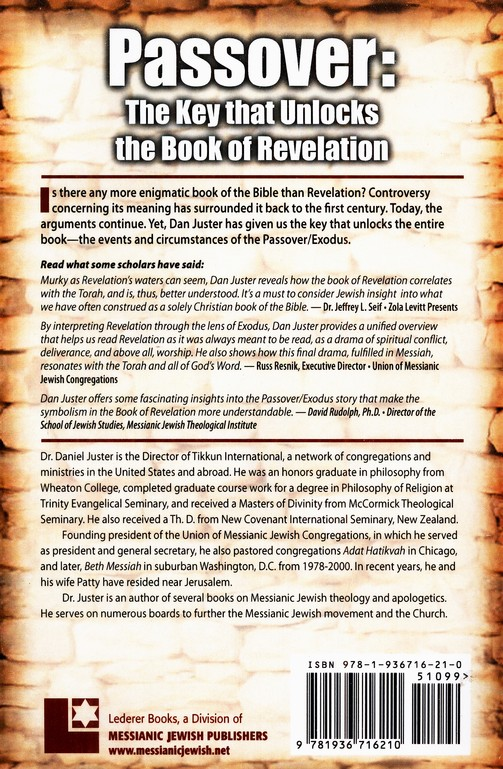 Passover: The Key That Unlocks the Book of Revelation