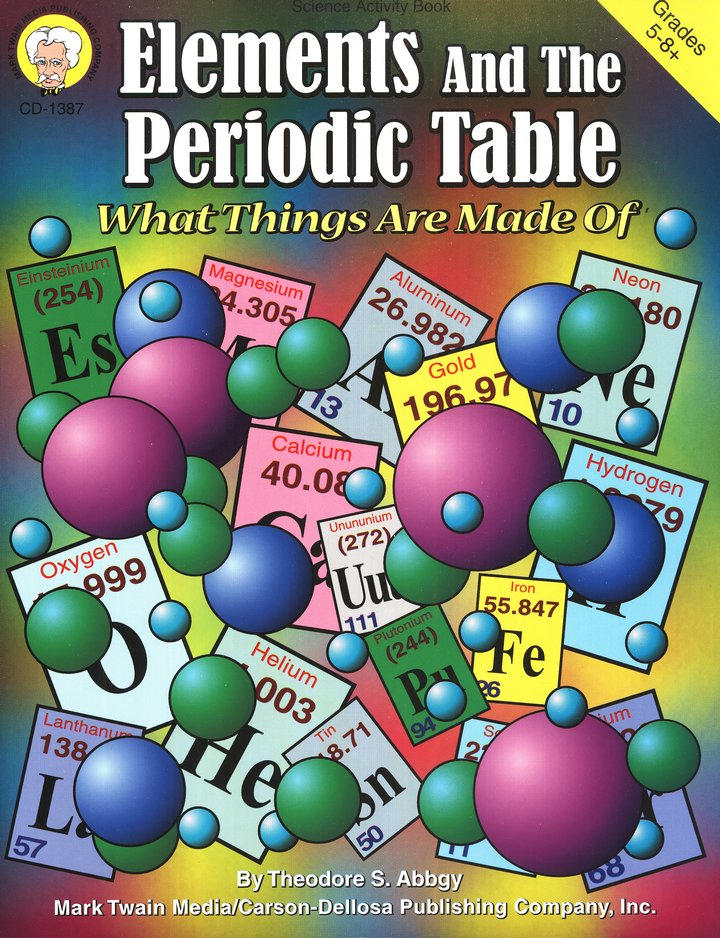 Elements and the Periodic Table: What Things Are Made Of Grades 5-8+