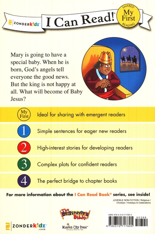 Baby Jesus Is Born: Beginner's Bible I Can Read Series
