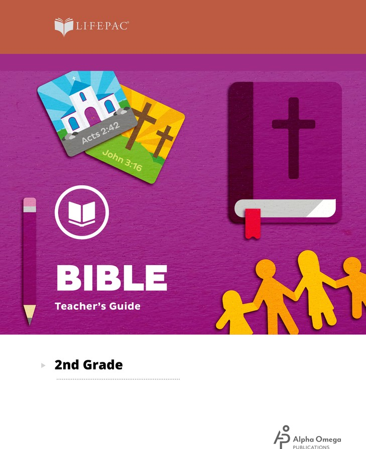 Lifepac Bible, Grade 2, Complete Set
