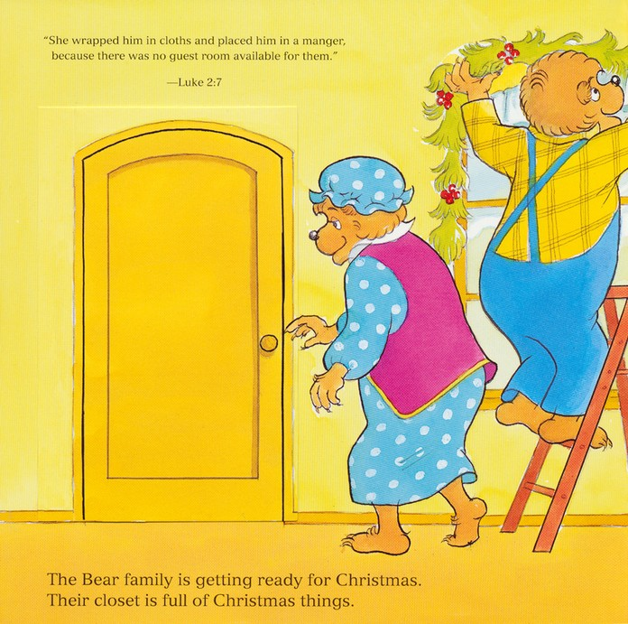 Living Lights: The Berenstain Bears Get Ready for  Christmas