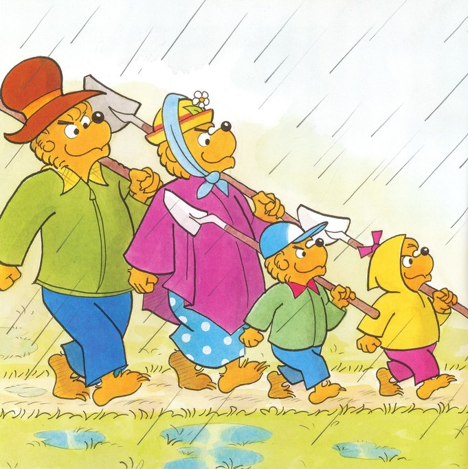 Living Lights: The Berenstain Bears Get Involved
