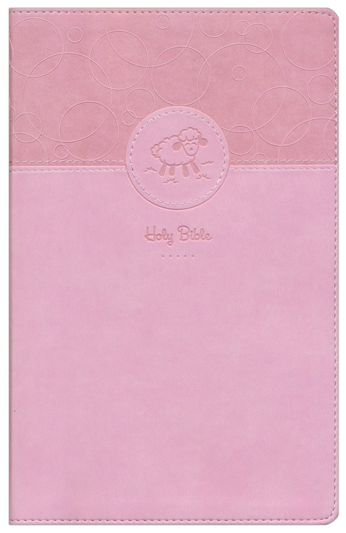 Baby Keepsake Bible, Pink