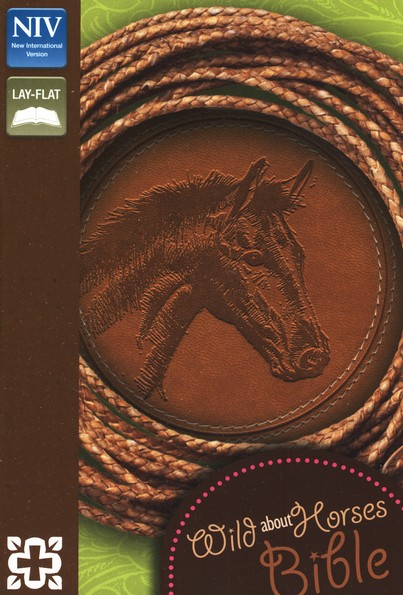 Wild About Horses Bible, Italian Duo-Tone, Toffee