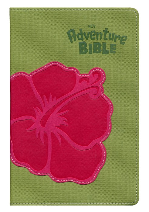NIV Adventure Bible, Compact, Italian Duo-Tone, Flower 1984