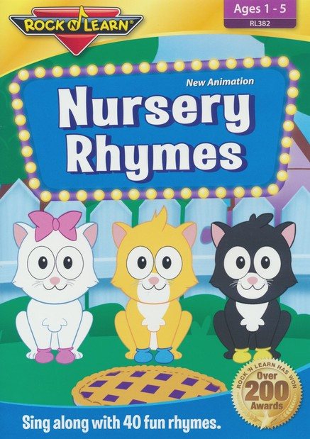 Nursery Rhymes Dvd 9781941722824