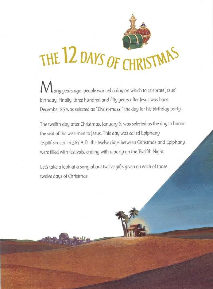 12 Days Of Christmas Song.12 Days Of Christmas The Story Behind A Favorite Christmas Song