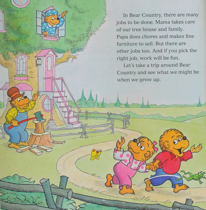 Berenstain Bears: Jobs Around Town - Slightly Imperfect