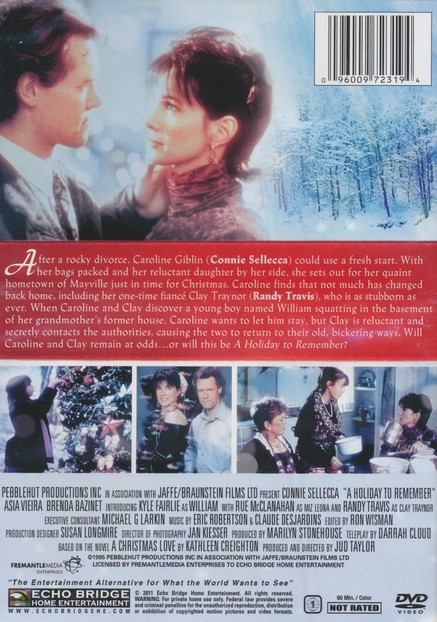 A Holiday to Remember, DVD