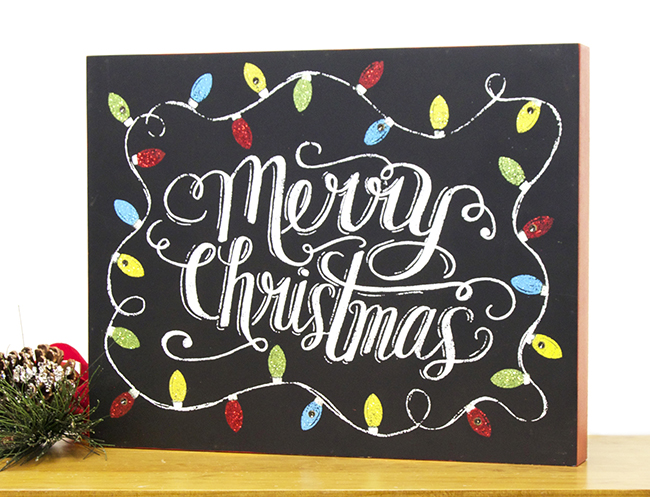 Merry christmas string lights led wall box sign christianbook.com